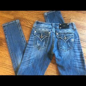 Women's miss me skinny jeans size 28